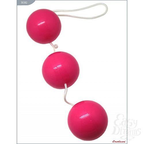 Фотография 3  Розовые тройные вагинальные шарики