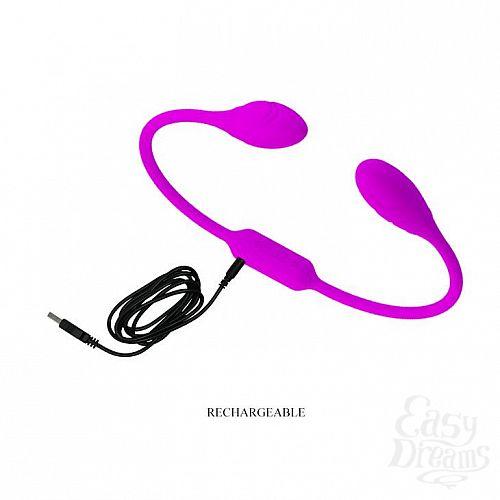 Фотография 7  Гибкий вибростимулятор для пар Dream Lovers Whip