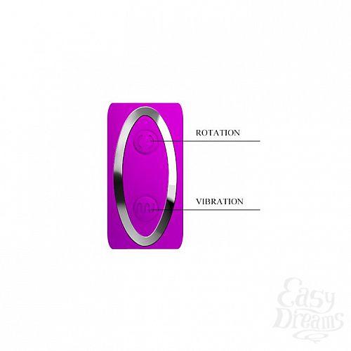 Фотография 5  Вибромассажер с клиторальным стимулятором-ротатором Magic Tongue