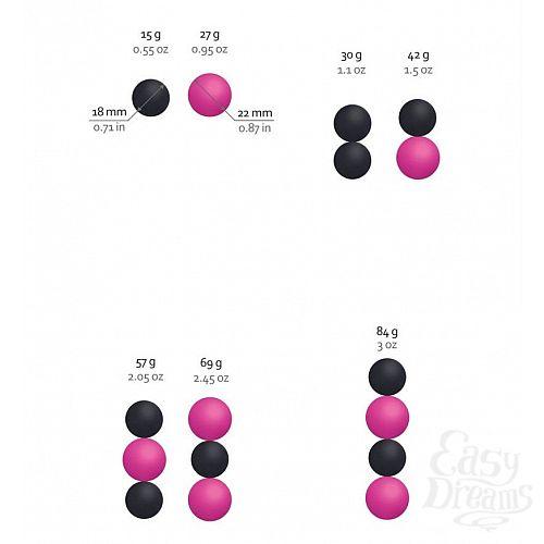 Фотография 4  Инновационные вагинальные шарики на магнитах Geisha Balls Magnetiс