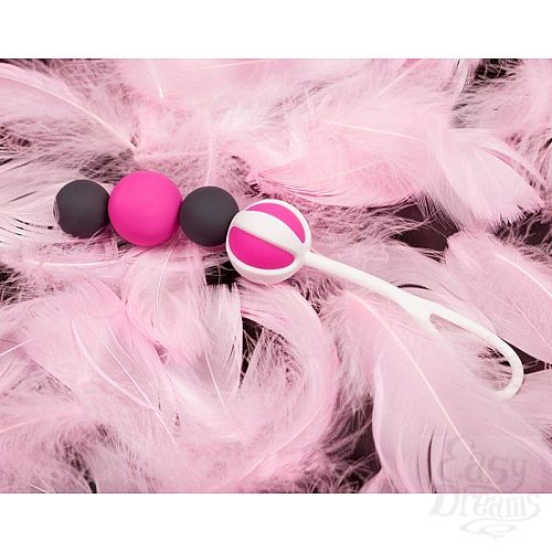 Фотография 6  Инновационные вагинальные шарики на магнитах Geisha Balls Magnetiс