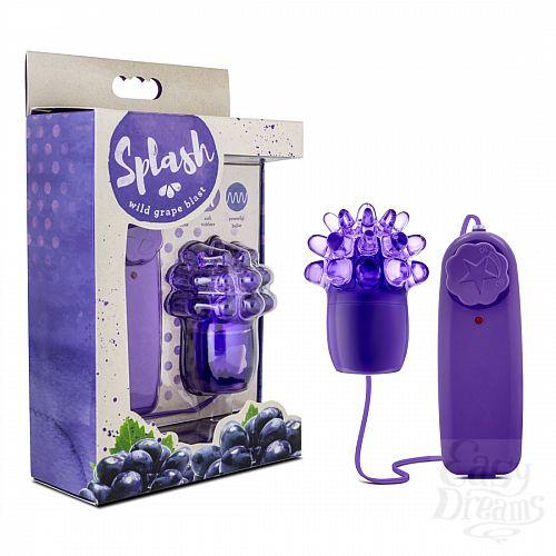 Фотография 2  Фиолетовое виброяйцо с шишечками Splash Wild Grape Blast