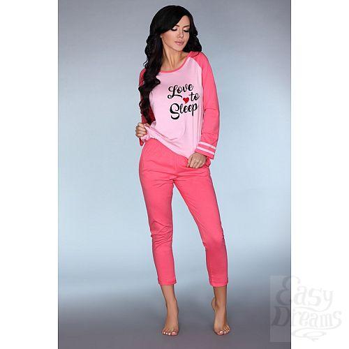 Фотография 1:  Мягкая пижамка Malblea с длинным рукавом