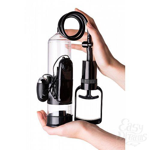 Фотография 5  Вакуумная помпа A-toys с вибропулей и эрекционными кольцами