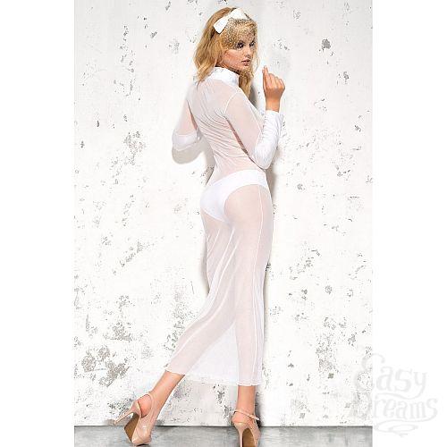 Фотография 5  Полупрозрачное длинное платье Sarah