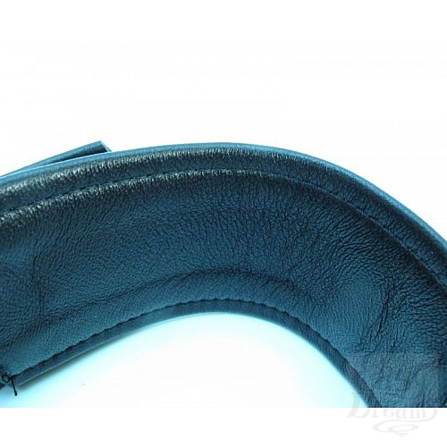 Фотография 2  Набор БДСМ-аксессуаров из гладкой кожи: ошейник, наручники и оковы