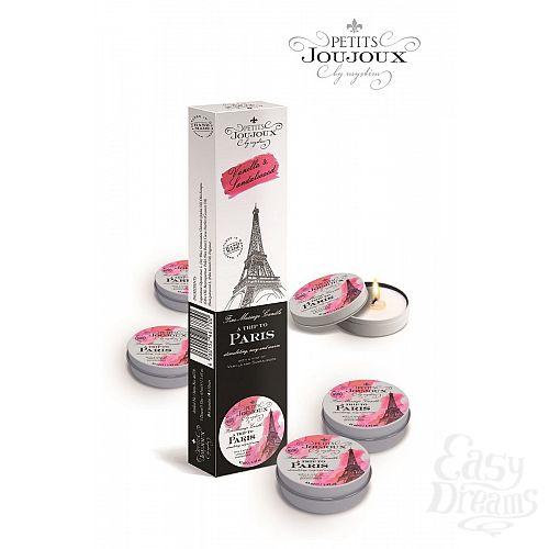 Фотография 1:  Набор из 5 свечей Petits Joujoux Paris с ароматом ванили и сандала