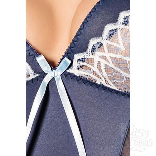 Фотография 2  Сорочка Fleur с полупрозрачными вставками по бокам