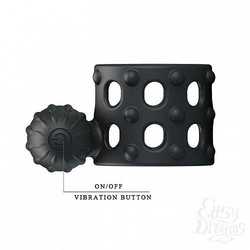 Фотография 6  Широкое эрекционное кольцо с вибрацией Osborn