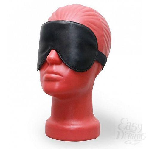 Фотография 1:  Светонепроницаемая маска на глаза из эко-кожи