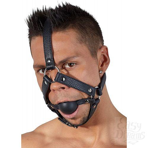 Фотография 1:  Кляп-намордник с фиксацией на голову Head Harness