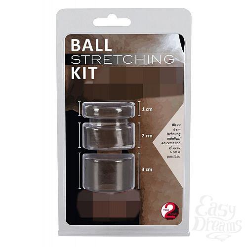 Фотография 7  Набор для фиксации и утяжки мошонки Ball Stretching Kit