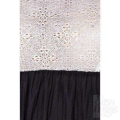 Фотография 3  Сорочка Larisa в тонкую полоску с кружевным лифом