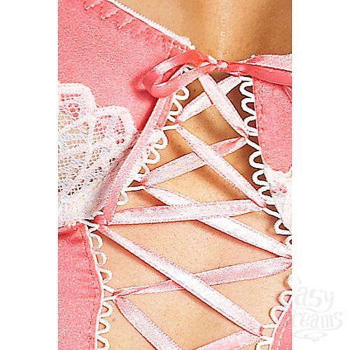 Фотография 2  Красивый корсаж Eve со шнуровкой и нежным кружевом