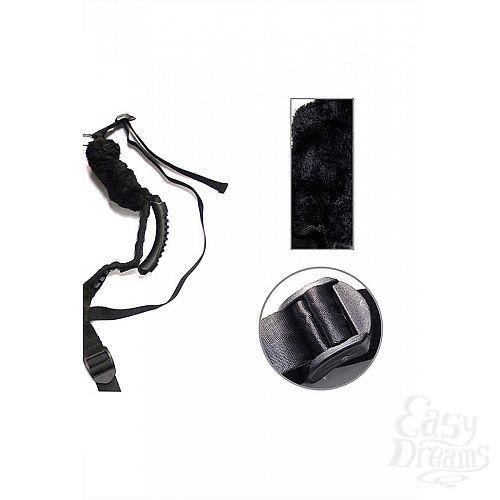Фотография 3  Чёрный бондажный комплект Romfun Sex Harness Bondage на сбруе