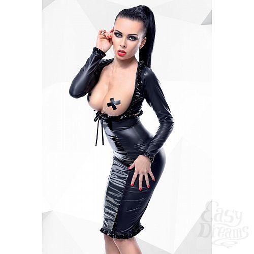 Фотография 1:  Комплект с открытой грудью Erna