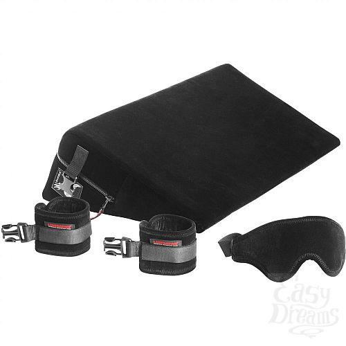 Фотография 1: LIBERATOR Liberator Retail Black Label Wedge - подушка для любви, малая, с креплениями+ маcка