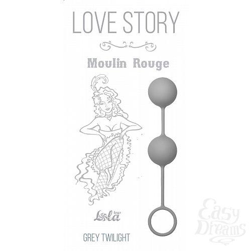 Фотография 2  Серые вагинальные шарики Love Story Moulin Rouge