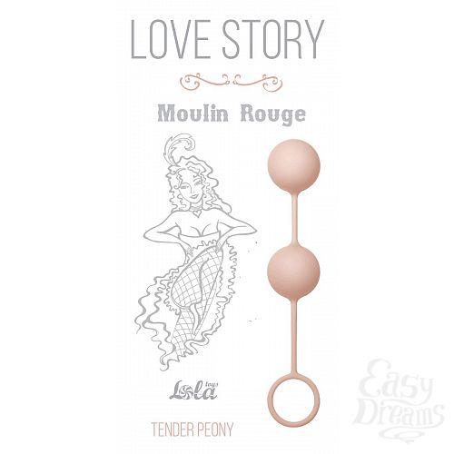 Фотография 2  Нежно-розовые вагинальные шарики Love Story Moulin Rouge
