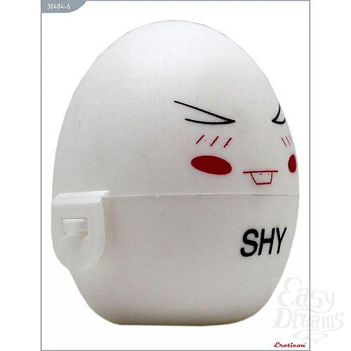 Фотография 4  Белый мастурбатор-яйцо SHY PokeMon