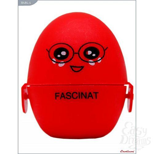 Фотография 1:  Красный мастурбатор-яйцо FASCINAT PokeMon