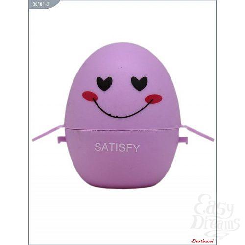 Фотография 3  Сиреневый мастурбатор-яйцо SATISFY PokeMon