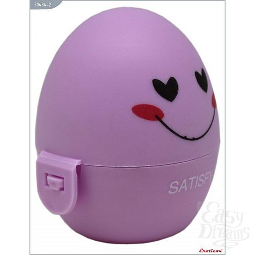 Фотография 4  Сиреневый мастурбатор-яйцо SATISFY PokeMon
