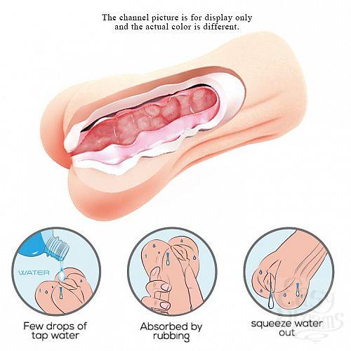 Фотография 5  Мастурбатор-вагина с эффектом смазки