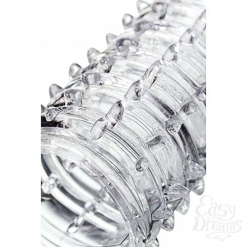 Фотография 8  Прозрачная закрытая насадка на пенис TOYFA A-Toys - 15,2 см.