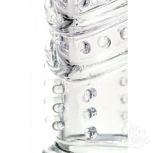 Фотография 6  Прозрачная насадка на пенис TOYFA A-Toys - 15,5 см.