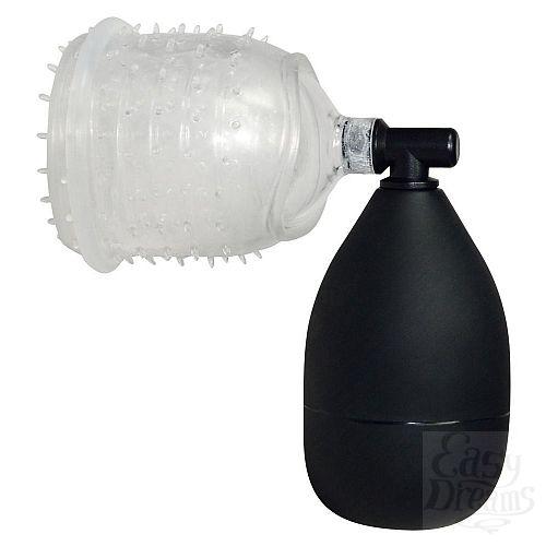 Фотография 3  Вакуумная помпа для головки One-hand BlowJob