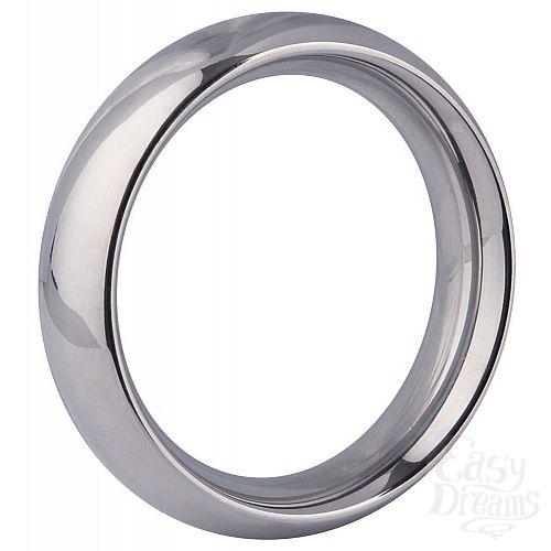 Фотография 1:  Эрекционное кольцо Steel Cock Ring