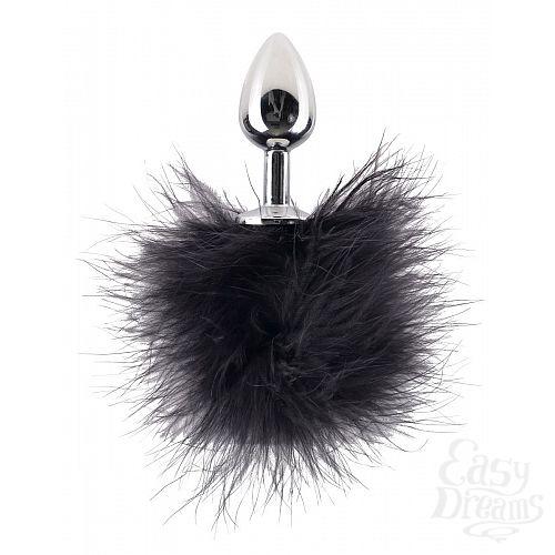 Фотография 3  Набор Feather Nipple Clamps   Butt Plug: зажимы на соски и анальная пробка с пёрышками