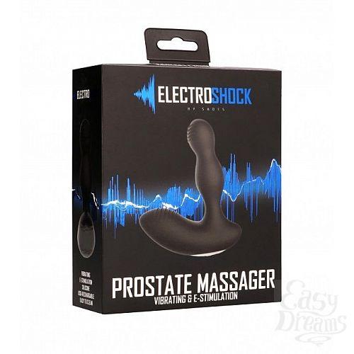 Фотография 3  Массажёр простаты с электростимуляцией E-Stimulation Vibrating Prostate