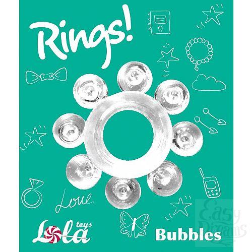 Фотография 2  Прозрачное эрекционное кольцо Rings Bubbles