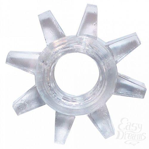 Фотография 1:  Прозрачное эрекционное кольцо Rings Cogweel