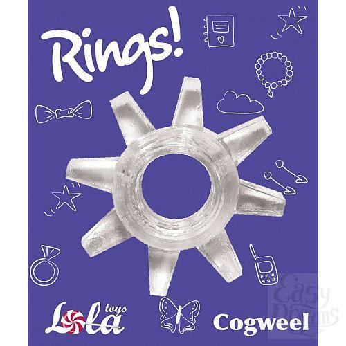 Фотография 2  Прозрачное эрекционное кольцо Rings Cogweel