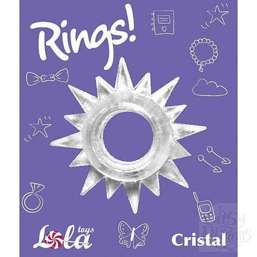 Фотография 2  Прозрачное эрекционное кольцо Rings Cristal
