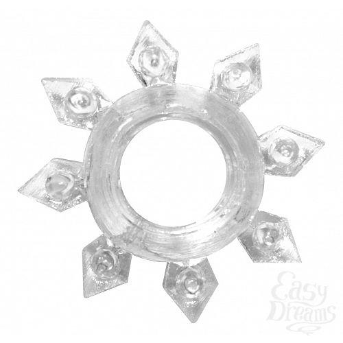 Фотография 1:  Прозрачное эрекционное кольцо Rings Gear
