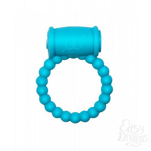 Фотография 1:  Голубое эрекционное кольцо Rings Drums