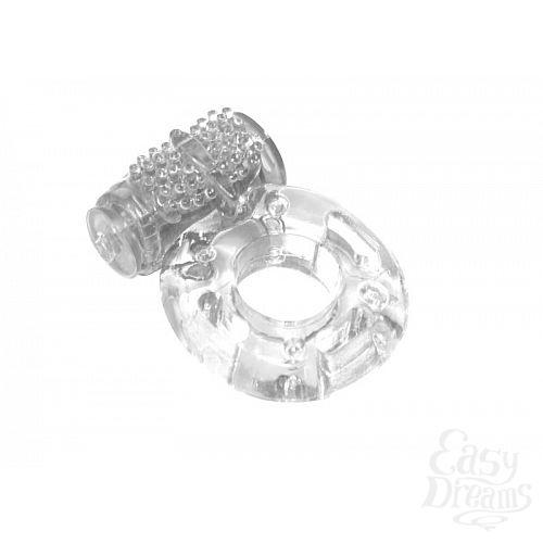 Фотография 2  Прозрачное эрекционное кольцо с вибрацией Rings Axle-pin