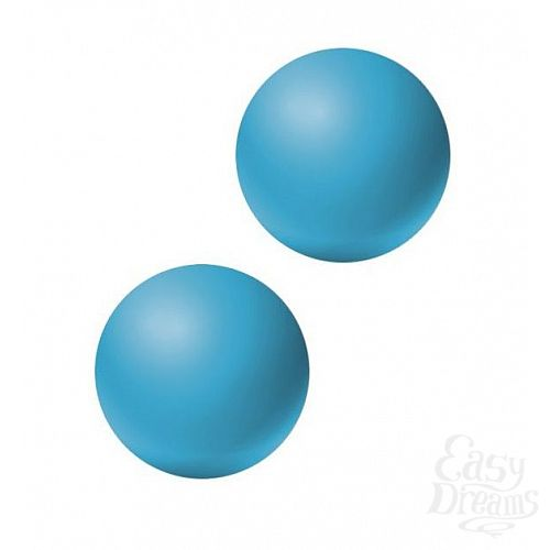 Фотография 1:  Голубые вагинальные шарики без сцепки Emotions Lexy Medium