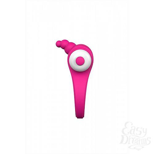 Фотография 4  Розовое эрекционное виброкольцо S-HANDE Duet