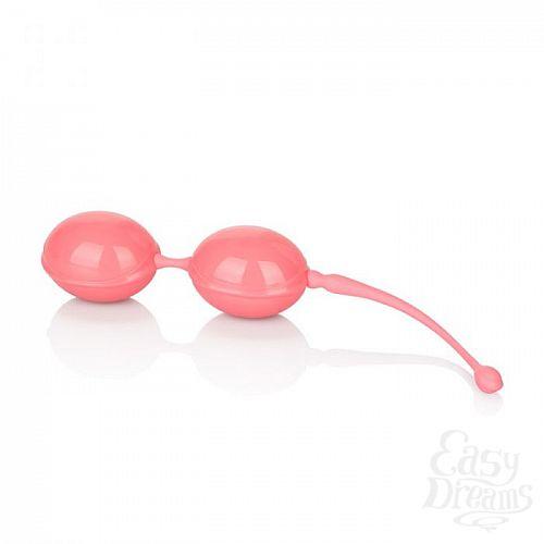 Фотография 2  Розовые вагинальные шарики Weighted Kegel Balls