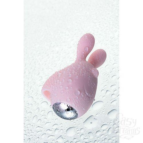Фотография 21  Нежно-розовый набор VITA: вибропуля и вибронасадка на палец