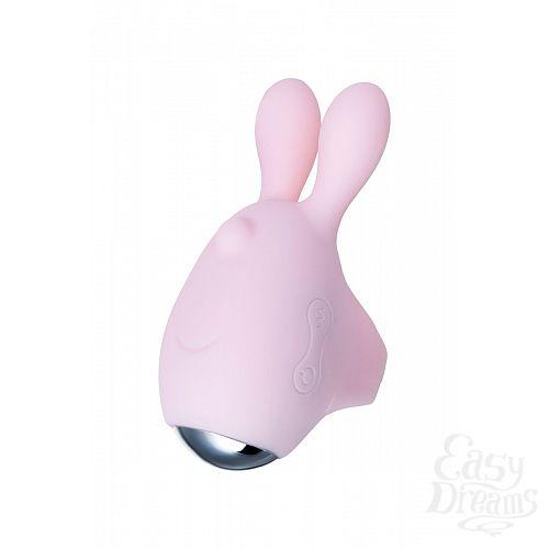 Фотография 5  Нежно-розовый набор VITA: вибропуля и вибронасадка на палец
