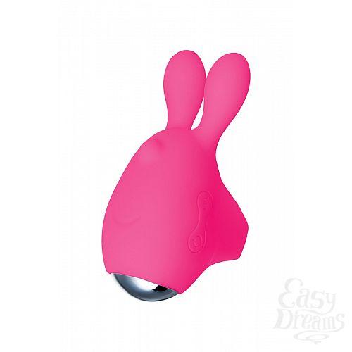 Фотография 5  Розовый набор VITA: вибропуля и вибронасадка на палец