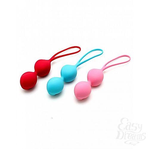 Фотография 3  Набор из 3 двойных вагинальных шариков Satisfyer Balls
