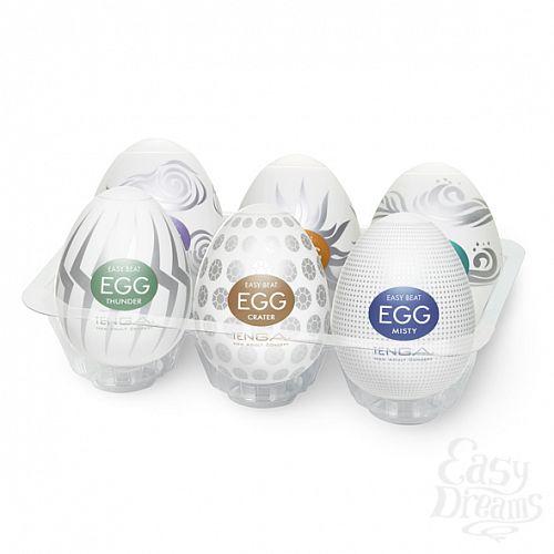 Фотография 1: Tenga Набор стимуляторов Tenga Egg - II, 6 шт
