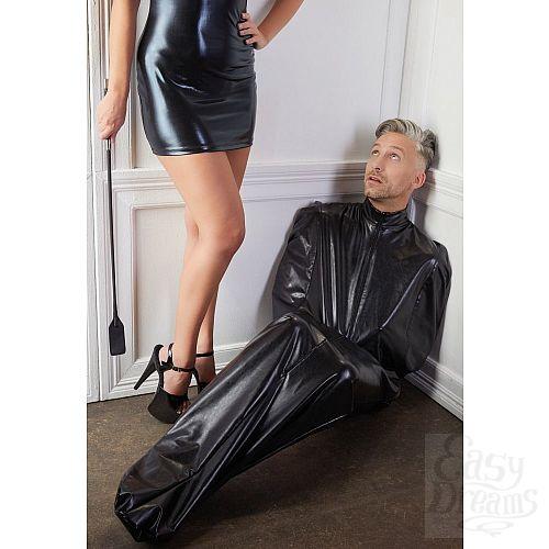 Фотография 3  Чёрный мешок без подкладки для фетиш-фантазий